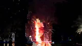 31.12.15 Address Hotel / Dubai Warum stürzt dieses Gebäude trotz Feuer nicht ein? 9/11=Spr