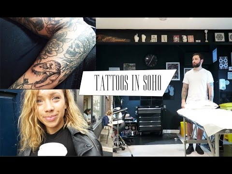 Tattoos In Soho | Beautycrushvlogs
