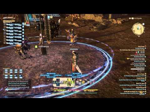 FFXIV Frontline PvP Battlegrounds 72 players - Part 1