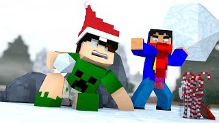 Minecraft: GUERRA DO NATAL | Pac vs Mike