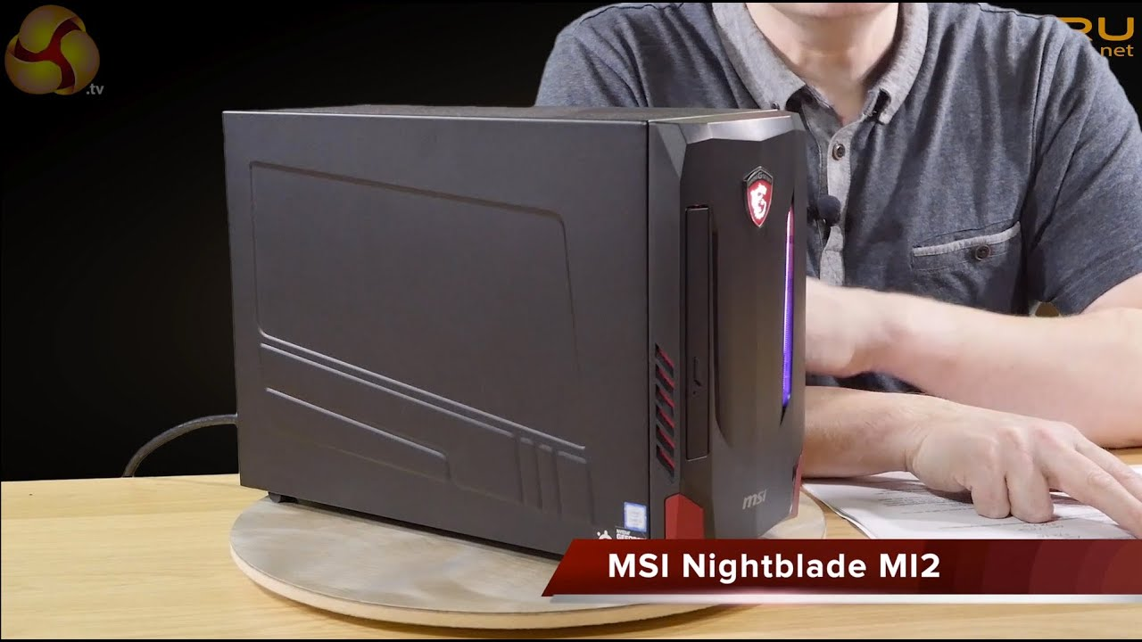 msi nightblade mi2 review youtube. Black Bedroom Furniture Sets. Home Design Ideas