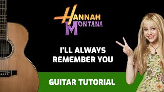 Tutorial ''I'LL ALWAYS REMEMBER YOU'' (tutorial guitarra)
