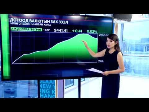 Олон улсын валютын зах зээл - 2017.08.16