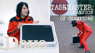 Noel Fielding Smashes Briefcase | Taskmaster Champion of Champions | Dave
