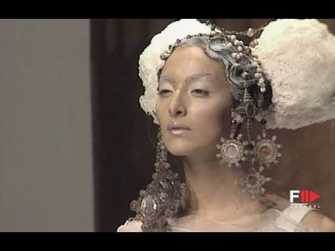 ANTONIO MARRAS Fall Winter 1998 1999 Haute Couture Rome - Fashion Channel