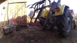 budowa wideł do tyłu ciągnika