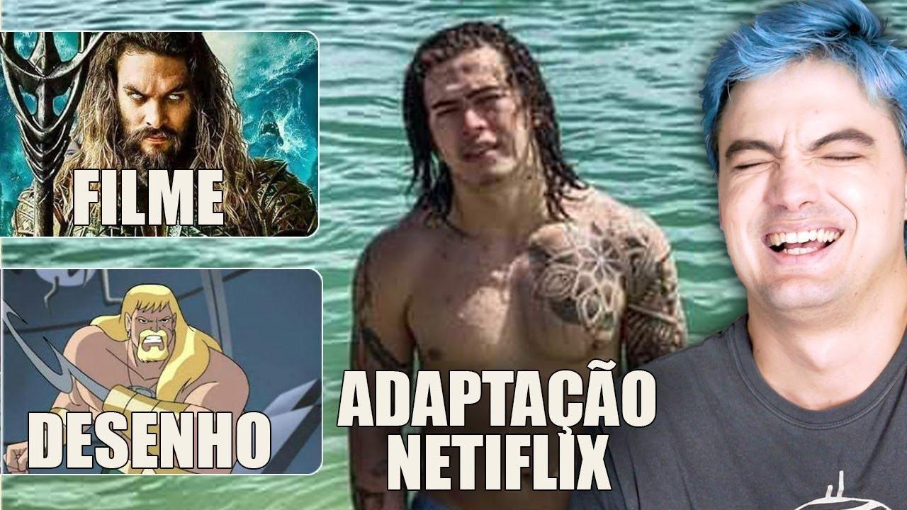 MELHORES MEMES DE ADAPTAÇÕES DA NETFLIX