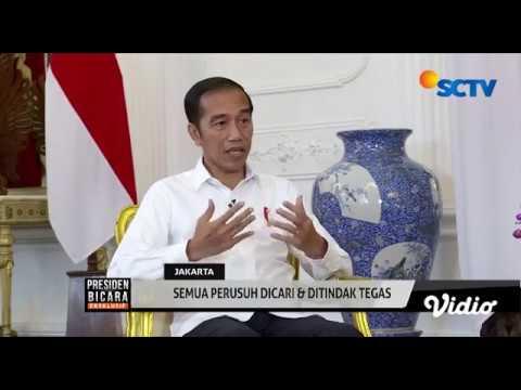 Jokowi: Dalang Kerusuhan Aksi 22 Mei Harus Ditindak Tegas! - Presiden Bicara