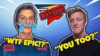 FaZe Cizzorz AND Tfue BOTH GET ACCOUNTS BANNED FOR EXPLOITING (Daily Fortnite Battle Royale Moments)