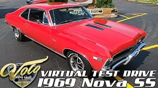 1969 Chevrolet Nova SS Virtual Test Drive at Volo Auto Museum (V18968)
