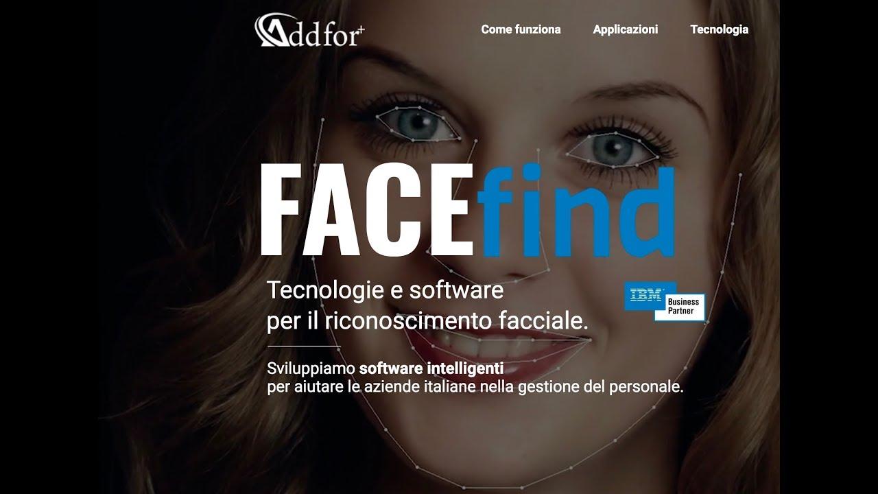 Software riconoscimento facciale