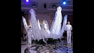 Выход невесты из цветка Лотос в сопровождении шоу балета Vip Dance