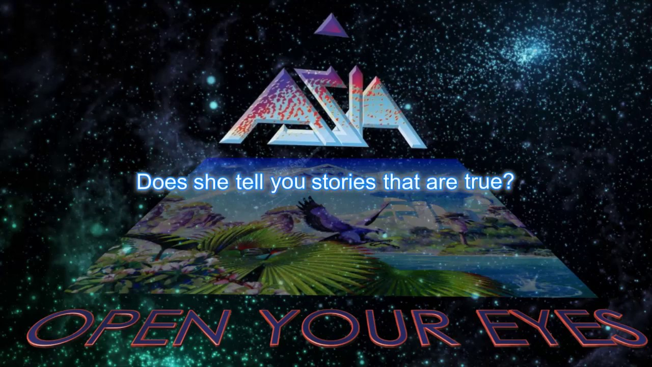 Open Your Eyes And Really See Stars >> Asia Open Your Eyes Lyric Video Youtube
