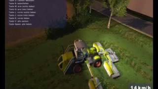 Landwirtschafts Simulator 2009 CLAAS Cougar 1400