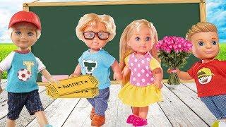 Тайный поклонник! Билеты в кино! Мультик про школу Барби!