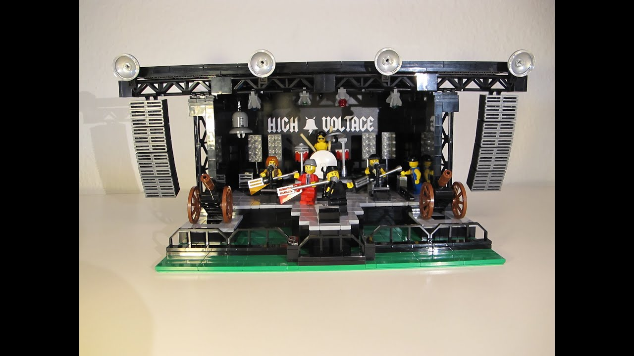 How To Build A Lego Stage