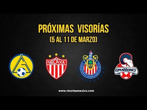 Visorías de fútbol Necaxa, Chivas, Cimarrones, Atlético Guadalajara (S5al11Mar)