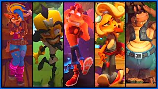 Crash Bandicoot 4: It's About Time  - All Death Animations (Every Character) 4K