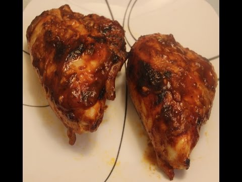 How to cook bbq split chicken breast in oven