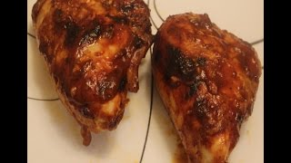 Best Oven Barbecued Chicken Recipe