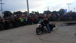 Sportbike/Cruiser Burnout Competition