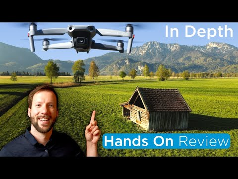 DJI Mavic Air 2 Hands On Review - Detailed & In Depth