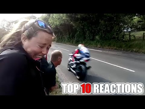 2018 ISLE OF MAN TT TOP 10 REACTIONS