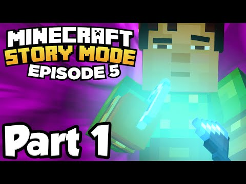Minecraft: Story Mode [Episode 5] Part 1 - MYSTERIOUS FLINT AND STEEL!!! (Full Gameplay)