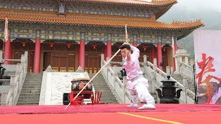Chinese, foreign Hung Kuen practitioners compete in south China