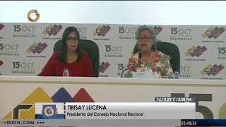 CNE hará entrega de informe con actas de la elección del 15-O ante la ANC