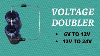 Dc voltage doubler Circuit