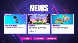 NEW SHADOW BOMB UPDATE! NEW SHADOW BOMB ITEM COMING SOON! (Fortnite Battle Royale)