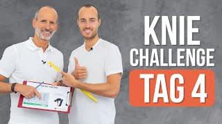 ❇️ Tag 4 ❇️ 7-Tage Knie-Challenge (Knieschmerzen, Übungen, Kniearthrose)