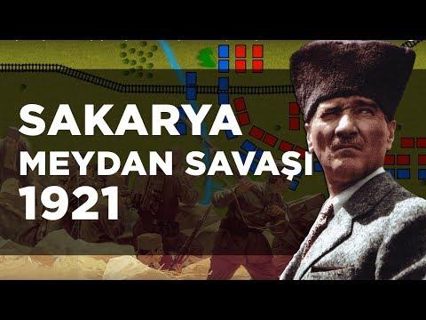 Sakarya Meydan Savaşı (1921) || 2D Savaş || Kurtuluş Savaşı