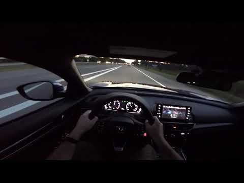 Evening Driving!! 2018 Honda Accord Sport 2.0T Manual