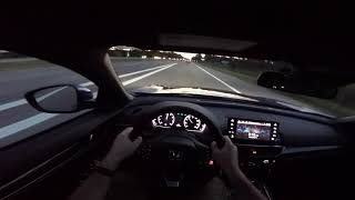 Evening Driving!! 2018 Honda Accord Sport 2.0T Manual
