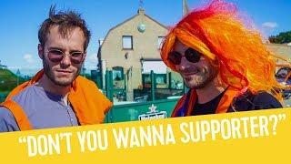 Fierens en Joren zoeken Oranjegekte op in Nederland | F.C. Fierens