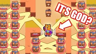 ULTIMATE LUCKY PLAYER!!! BRAWL STARS Funny Moments