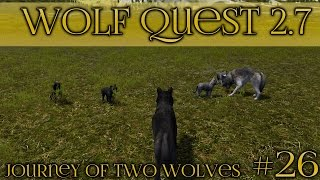 Raising a Strong Wolf Pack 🐺 Wolf Quest 2.7 - Brothers Journey || Episode #26