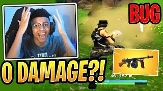 Myth and Streamers React to 0 Damage Drum Gun BUG! - Fortnite Best and Funny Moments