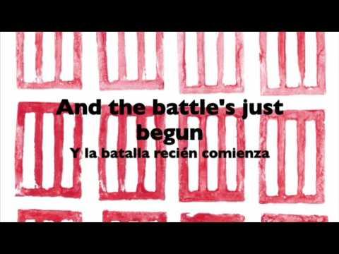 Paramore - Sunday Bloody Sunday (Lyrics English & Spanish)