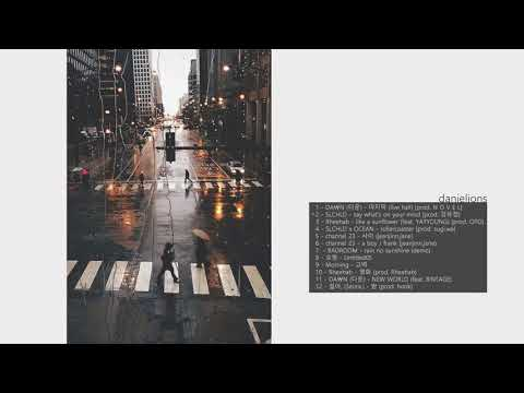 ♫ i'd fall for you like rain on pavement / korean underground r&b (12 songs)