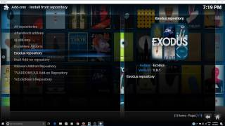 How to fix Empty Repositories in Kodi or addos not updating properly