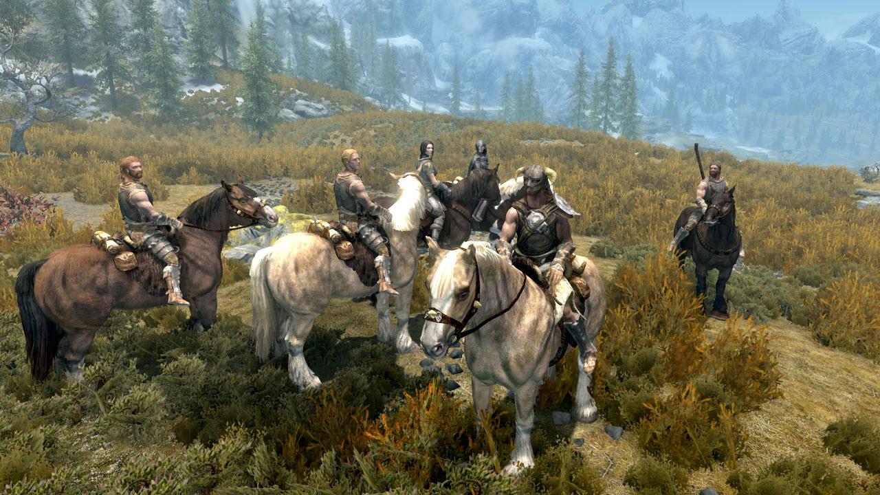 Summon Followers Horse