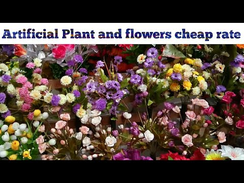 Cheap Market For Artificial Flower Fake Flowers Lohar Chawl