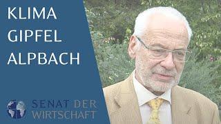 Alpbach Klimagipfel vom Senat der Wirtschaft