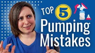 5 BIGGEST Mistakes Pumping Moms Make! - HOW TO USE A BREAST PUMP