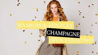 Model Elize Been: 'Waarom ik een fles champagne open vanavond!' VLOG #5