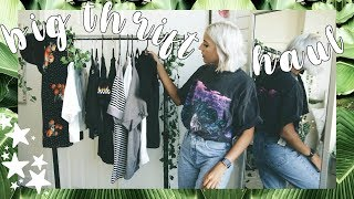 BIG Collective Thrift Store Try On Haul   Goodwill, Salvation Army, Platos Closet