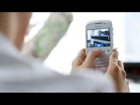 BlackBerry Curve 8520 White Demo